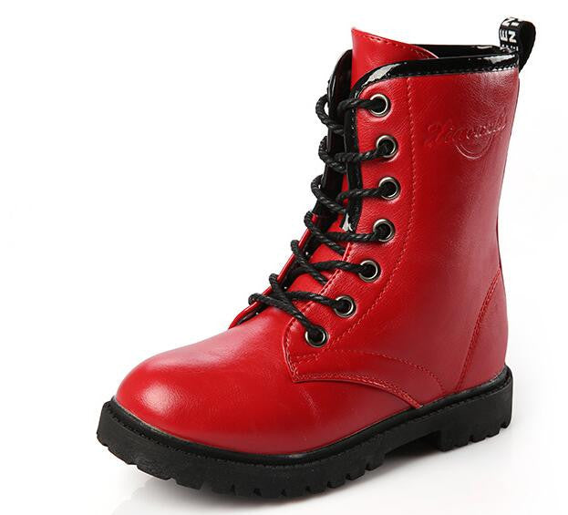 e20fc0b2df3 Girls Fall & Winter Leather Boots - Free Shipping to N.A. - Puddle ...