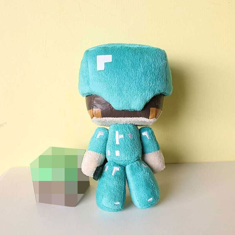 18cm Minecraft Steve Plush Toy Free Shipping To N A Puddle Season