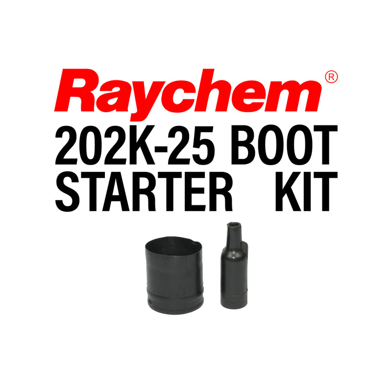 Race Spec Raychem Straight Lipped Boot Starter Kit