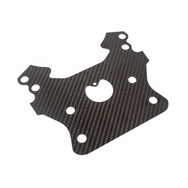 Carbon Fiber Steering Wheel Plate
