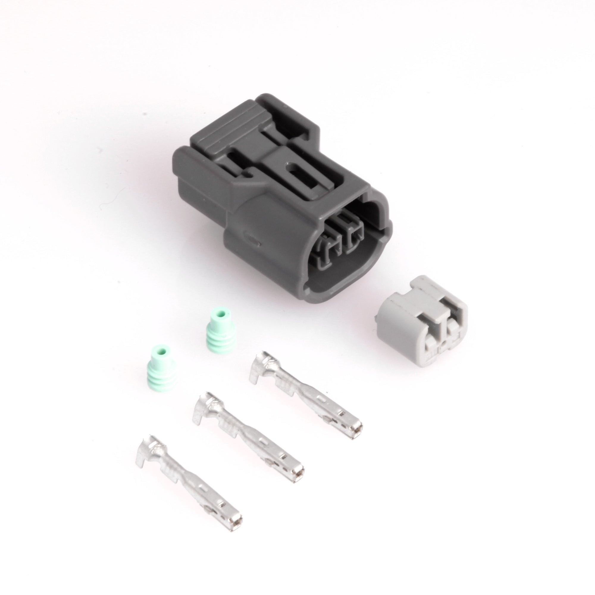 Connectors - Honda 2-Position Connector Kit, Gray