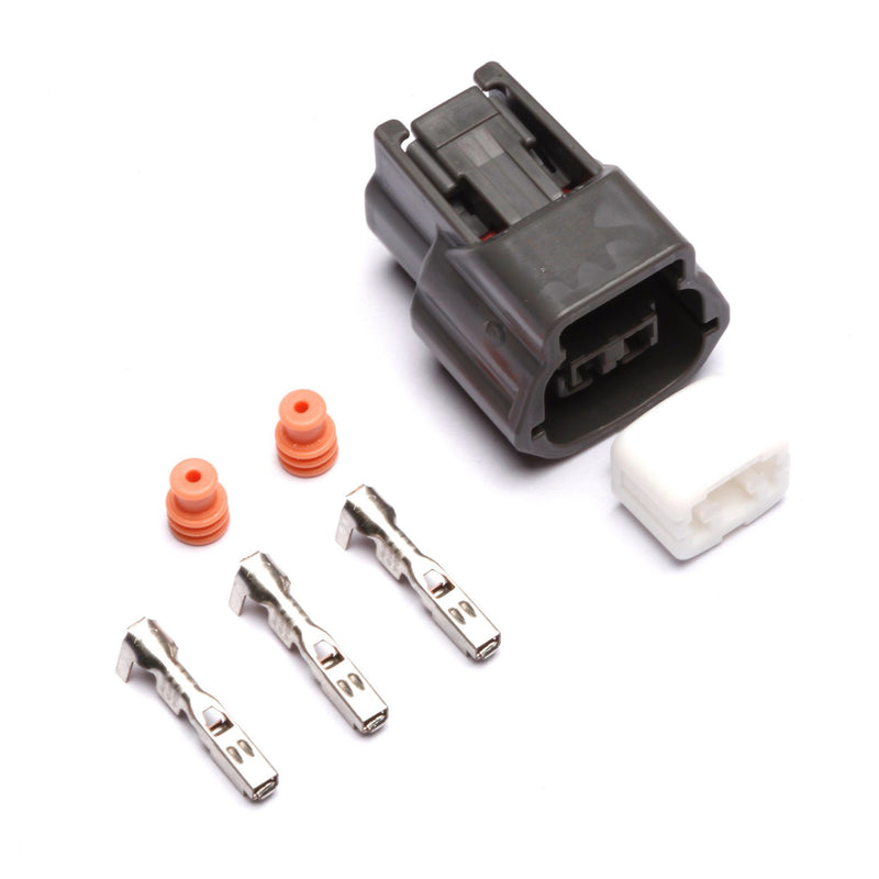 Connectors - Nissan 2-Position Connector Kit (Dark Gray
