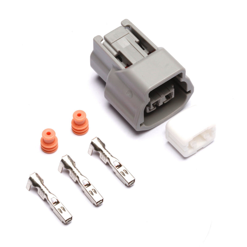 Connectors - Nissan 2-Position Connector Kit (Light Gray)
