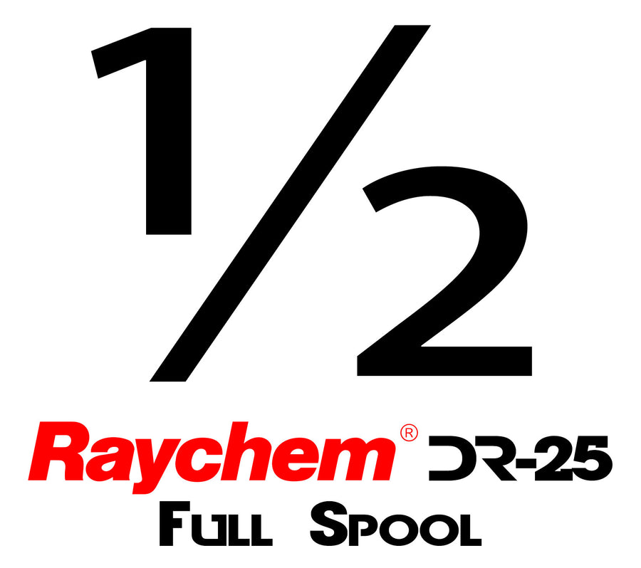 "Tubing - UK Raychem DR-25-1/2"" (Full Spool)"