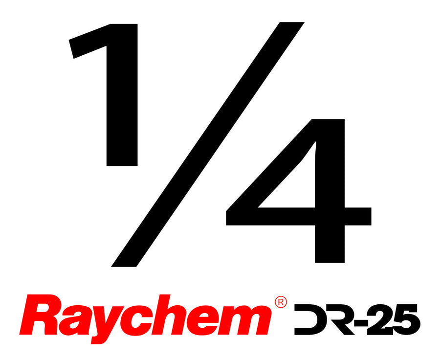 "Tubing - UK Raychem DR-25-1/4"" (By The Foot)"