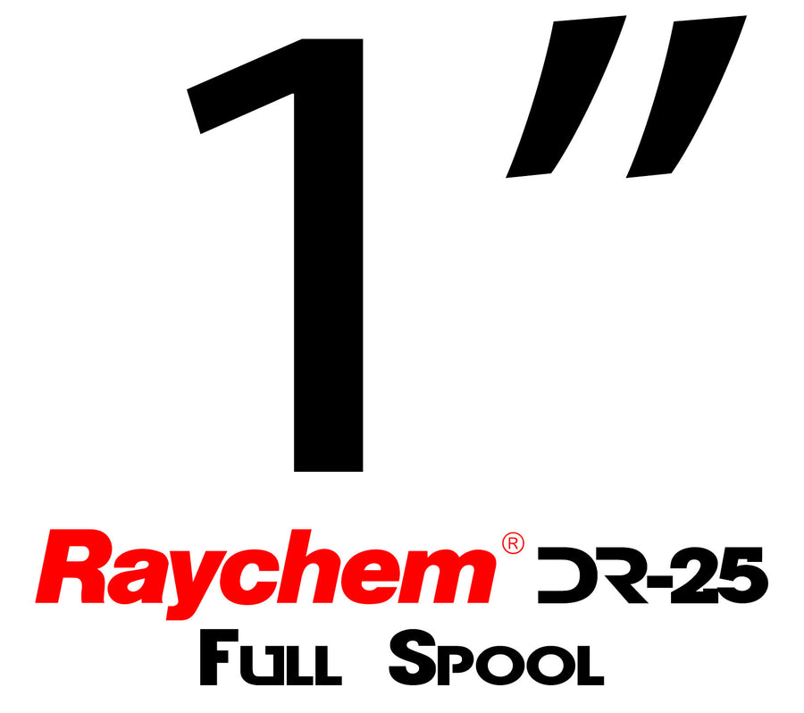 "Tubing - UK Raychem DR-25-1"" (Full Spool)"