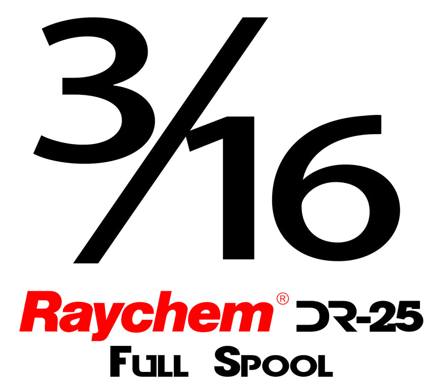"Tubing - UK Raychem DR-25-3/16"" (Full Spool)"
