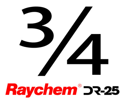 "Tubing - Raychem DR-25-3/4"" (By The Foot)"