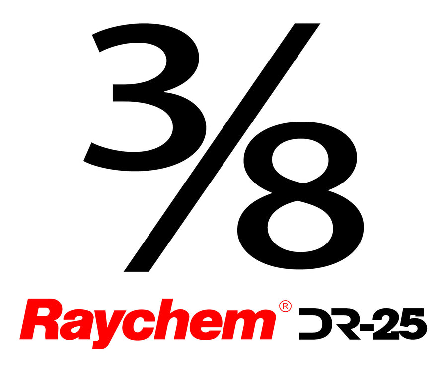 "Tubing - UK Raychem DR-25-3/8"" (By The Foot)"