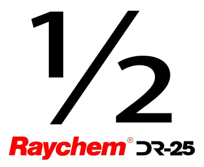 "Tubing - US Raychem DR-25-1/2"" (By The Foot)"