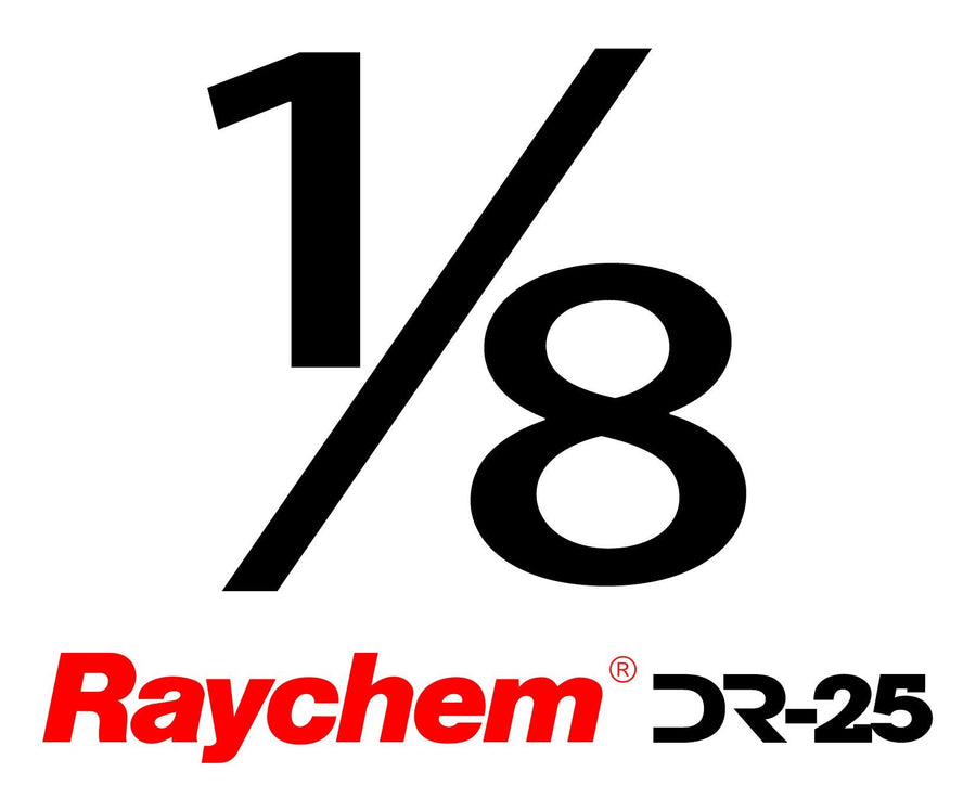 "Tubing - US Raychem DR-25-1/8"" (By The Foot)"