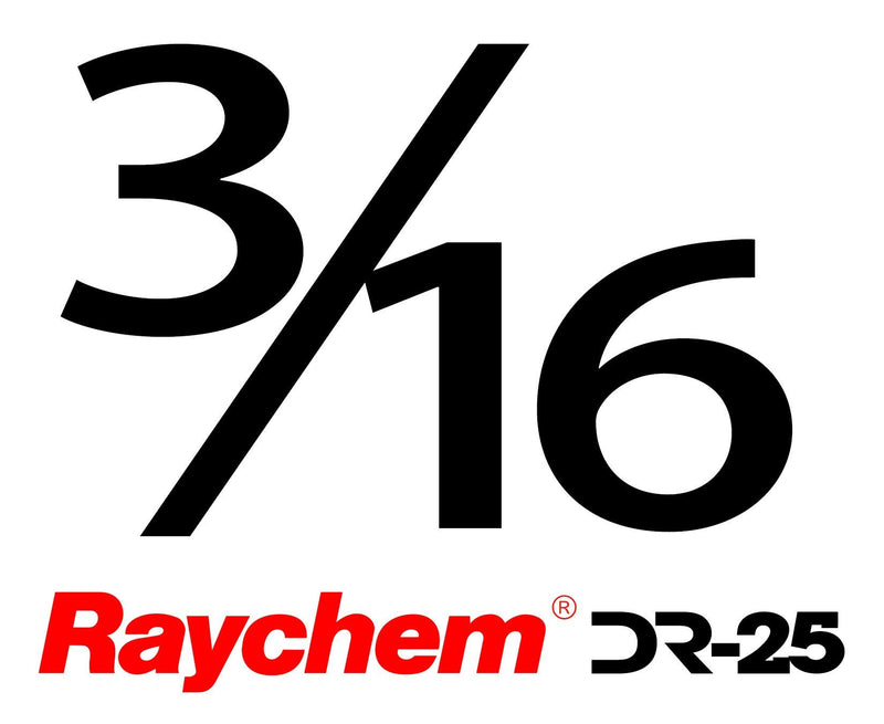 "Tubing - US Raychem DR-25-3/16"" (By The Foot)"