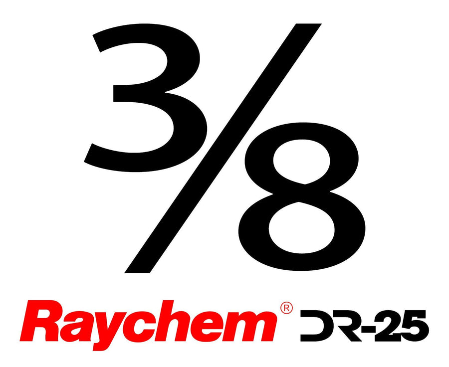 "Tubing - US Raychem DR-25-3/8"" (By The Foot)"