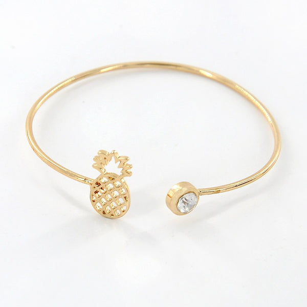 Pineapple Crystal Cuff