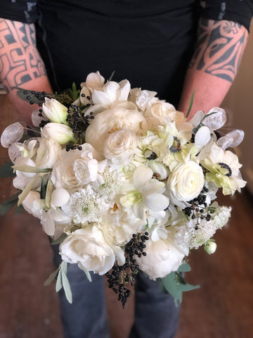 Rebel Petal Wedding Bouquet Flowers Ottawa Florist