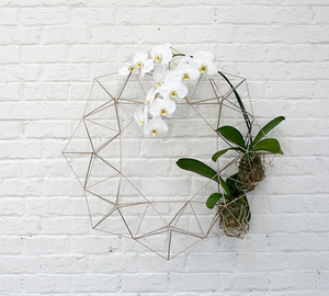 Wire Geo Wreath