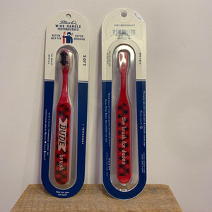 Wide Handle Toothbrush