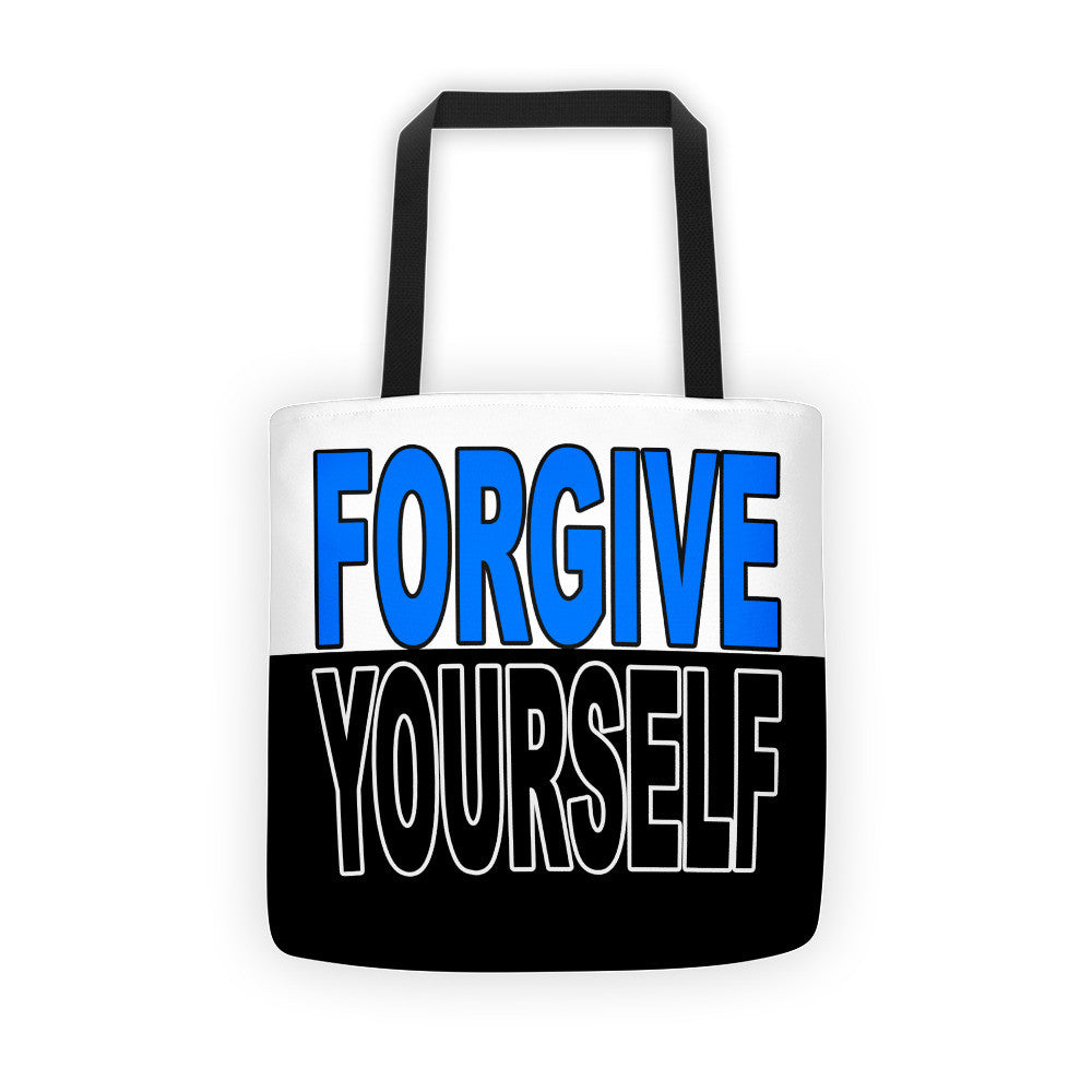 Canvas tote forgive yourself