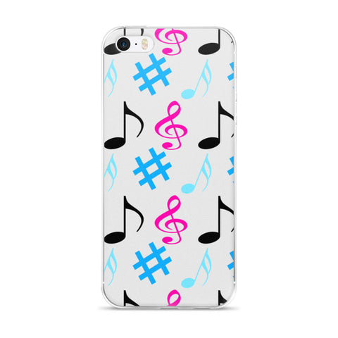 The Music Lover: iPhone 5/5s/Se, 6/6s, 6/6s Plus Case