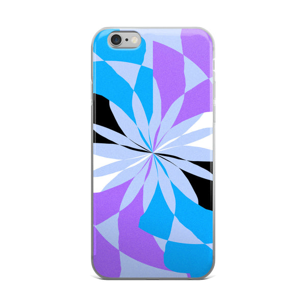 Viola Blue Black White Purple iPhone 5/5s/Se, 6/6s, 6/6s Plus Case