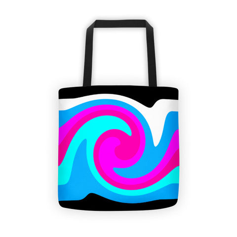 blue womens tote bags