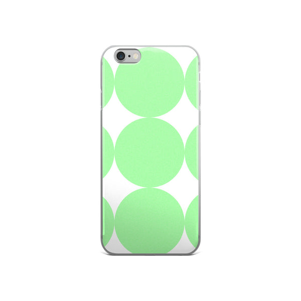 Green Dots: iPhone 5/5s/Se, 6/6s, 6/6s Plus Case