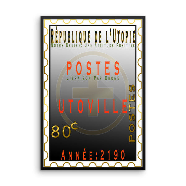 Framed poster, poster, french poster, wall decoration