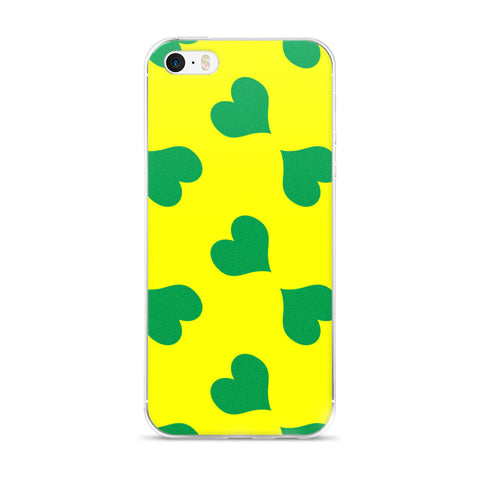 Jaune: iPhone 5/5s/Se, 6/6s, 6/6s Plus Case