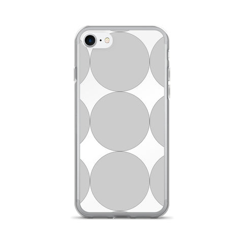 Gray Dots: iPhone 7/7 Plus Case