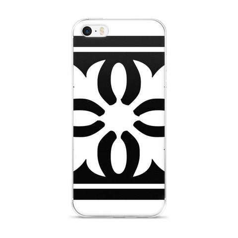 black white iphone case