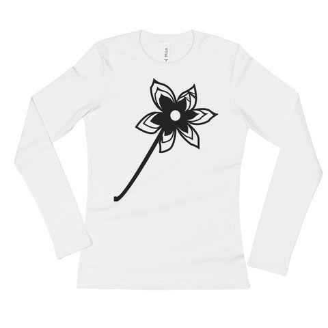 Fleur Noire Ladies' Long Sleeve T-Shirt