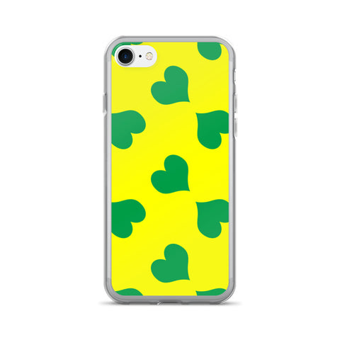 yellow green iPhone 7 case