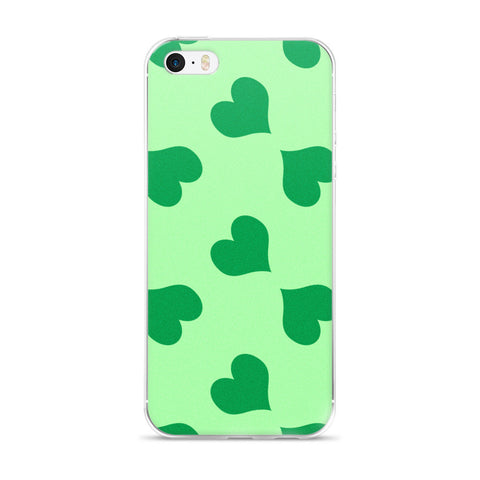 Le Coeur Vert: iPhone 5/5s/Se, 6/6s, 6/6s Plus Case