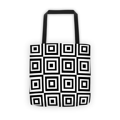 black and white tote bags