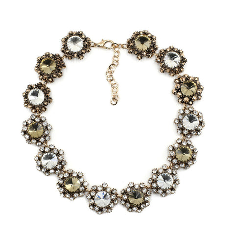 Bubble Ball Bib Necklace