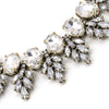 Clear Edelweiss Collar Necklace