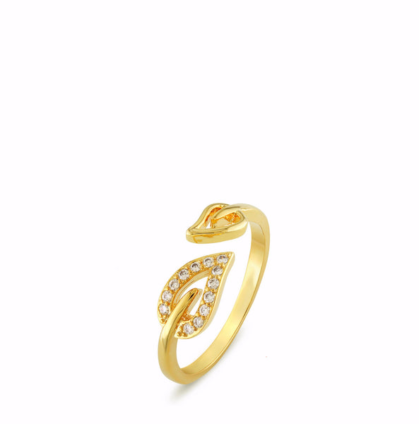 Elliptic Wrap Ring