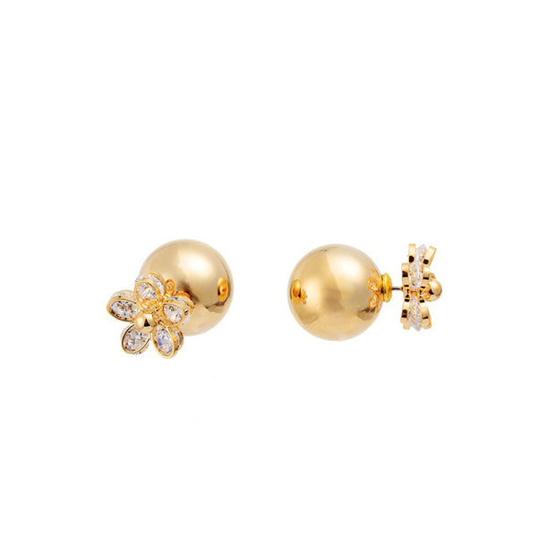Florianne Double Studs Earrings