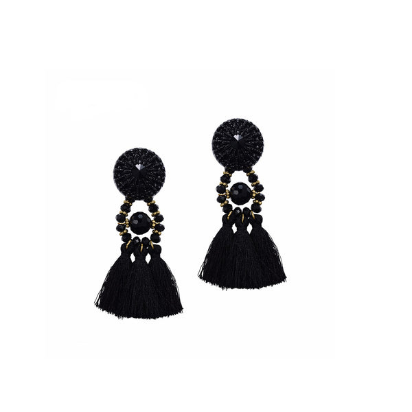 Tassely Rock Earrings