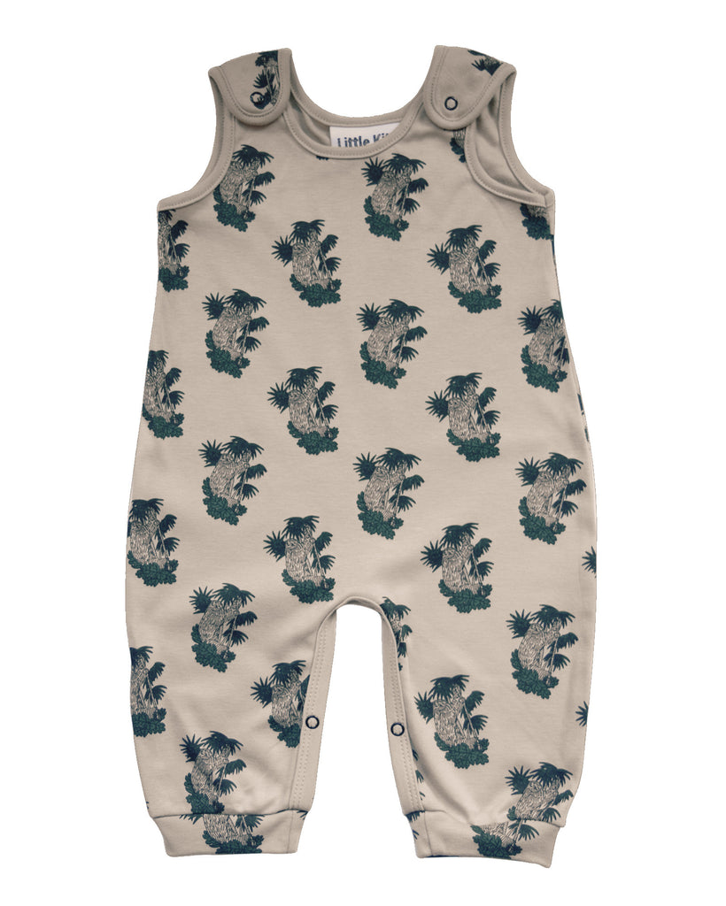 Little Kitt eco cotton dungaree jumpsuit for babies & toddlers