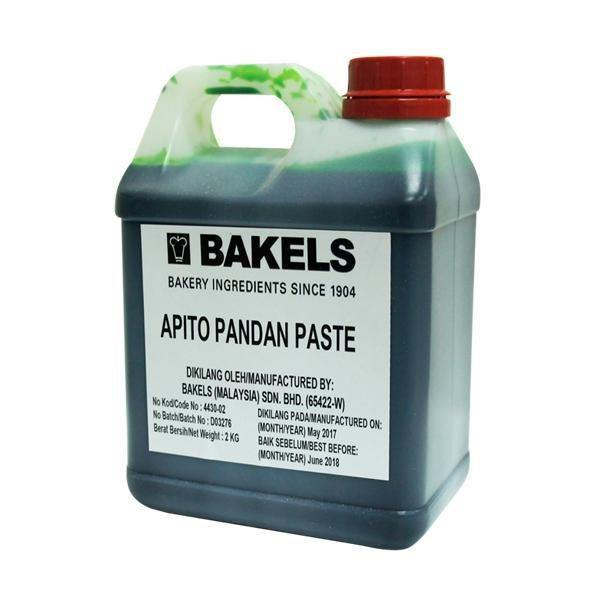 100g Bakels Apito Pandan Paste TW6729 - Baking Ingredients