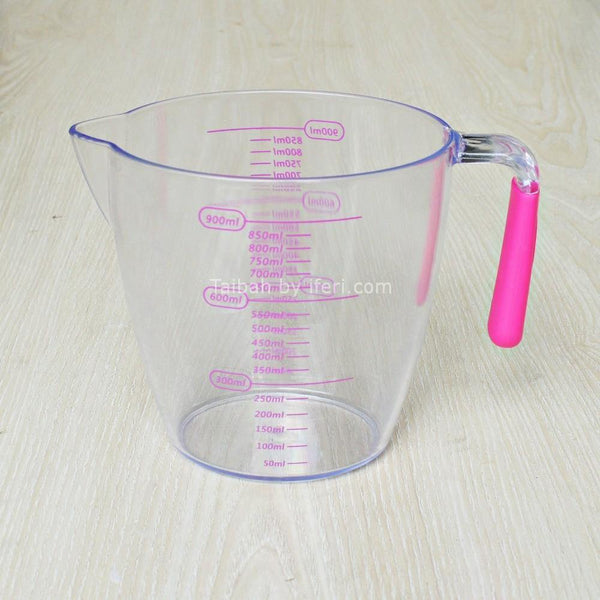900ml Acrylic High Quality Measurement Mug SF48766-1