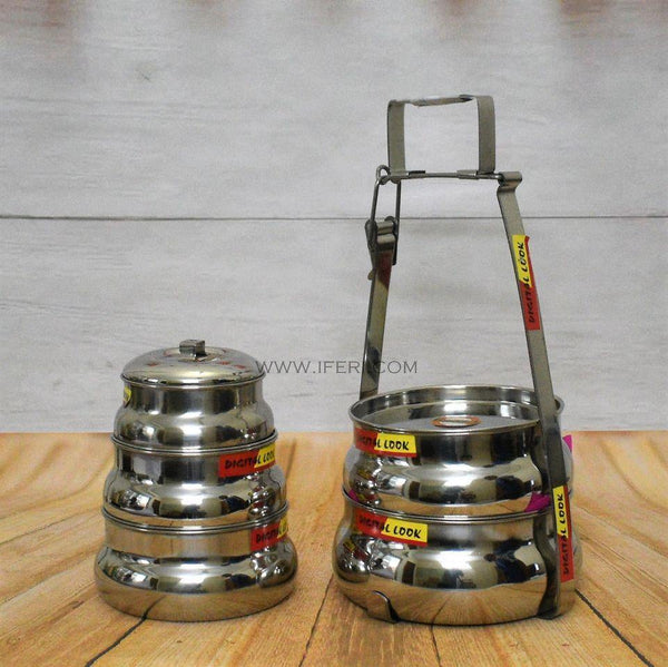 5 Tier Stainless Steel Tiffin Food Carrier UT3994