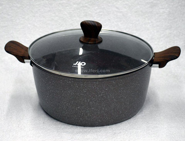 26cm Marble Coating Non Stick Cookware with Lid RY0747 - Cookware