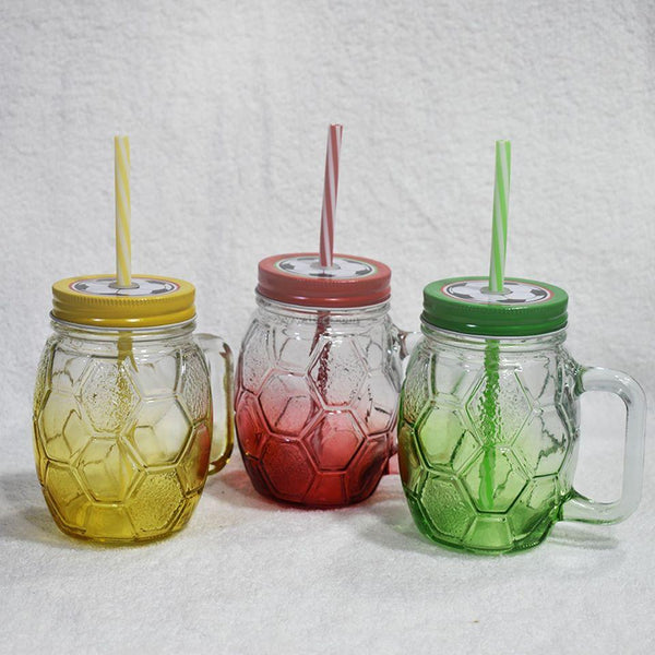 3 Pcs Exclusive Water/Juice Glass Jar Mug Set EB2322 - iferi.com