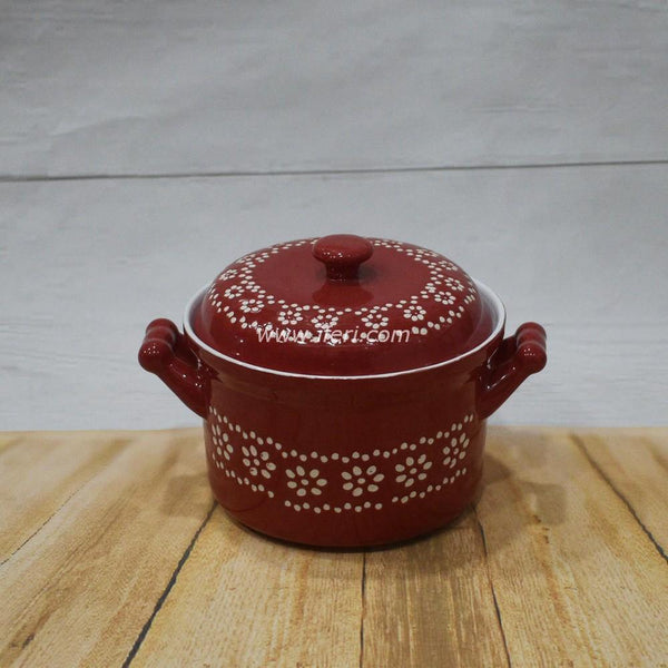 5.5 inch Ceramic Curry Serving Dish With Lid BS2051 - Serveware