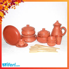 40 Pcs Clay Dinner Set MB7634