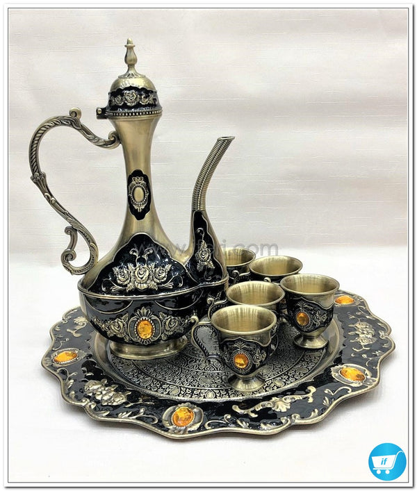 Decorative Arabian Metal Surai Set 8766