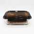 7 inch Glass airtight Lunch Box Container SM7693