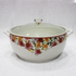 9 inch Ceramic Bowl With Glass Lid For serving SM7717